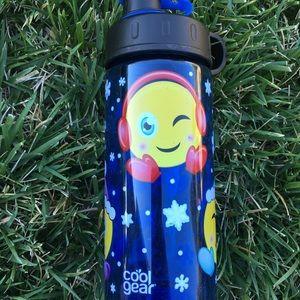 NWT cool gear emoji cute water bottle